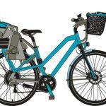 Kindersitz für Fahrrad