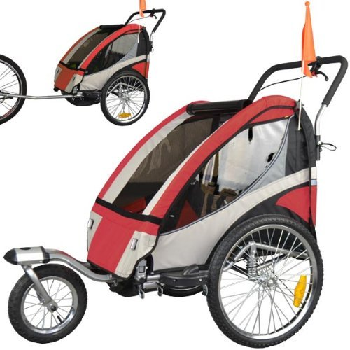 tiggo 504s jogger 2in1 kinder fahrradanh nger test april