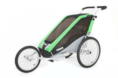 thule chariot cheetah 1 kinderfahrradanh nger test april. Black Bedroom Furniture Sets. Home Design Ideas