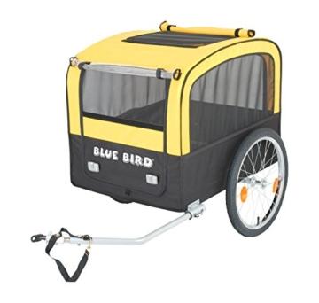 Blue Bird Fahrradanhänger für Hunde -